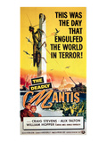 The Deadly Mantis, Craig Stevens, Alix Talton, 1957 Posters