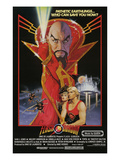 Flash Gordon, Top: Max Von Sydow, Bottom L-R: Melody Anderson, Sam J. Jones, 1980 Posters