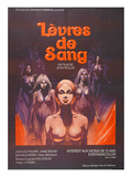 Lips of Blood, (AKA Levres De Sang), 1975 Prints
