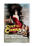 Cult of the Cobra, 1955 Poster