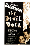 The Devil Doll, Maureen O'Sullivan, Frank Lawton, Lionel Barrymore, 1936 Posters