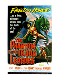 The Phantom From 10,000 Leagues, 1956 Posters