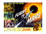 Flight to Mars, 1951 Print