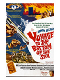Voyage to the Bottom of the Sea, Walter Pidgeon, Frankie Avalon, 1961 Poster