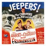 Bud Abbott & Lou Costello Meet Frankenstein, 1948 Plakát
