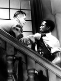 Blackboard Jungle, Glenn Ford, Sidney Poitier, 1955 Photo