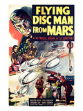 Flying Disc Man From Mars, 1950 Posters