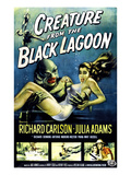 Creature From the Black Lagoon, As 'The Creature': Ben Chapman, Ricou Browning, 1954 Print