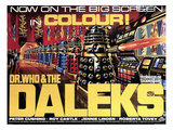 Dr. Who And the Daleks, 1965 Kunstdrucke