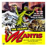 The Deadly Mantis, 1957 Reprodukcje