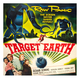 Target Earth, Bottom Left: Kathleen Crowley, Richard Denning, Virginia Grey, 1954 Photo