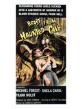 Beast From Haunted Cave, Sheila Carol, 1959 Kunstdrucke