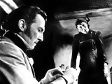 Curse of Frankenstein, Peter Cushing, Christopher Lee, 1957 Photo
