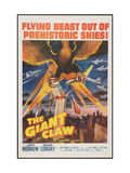 The Giant Claw, 1957 Julisteet