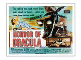 Horror of Dracula, 1958 Plakaty