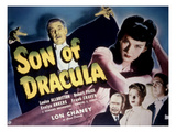 Son of Dracula, Lon Chaney, Jr., Louise Allbritton, Frank Craven, Evelyn Ankers, Robert Paige, 1943 Posters