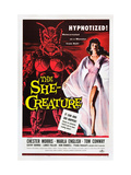 The She-Creature, Paul Blaisdell, Marla English, 1956 Plakaty