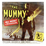The Mummy, Christopher Lee, 1959 Poster