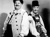 Swiss Miss, Oliver Hardy, Stan Laurel [Laurel & Hardy], 1938 Photo