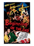 Beginning of the End, Peggie Castle, Peter Graves, 1957 Photographie