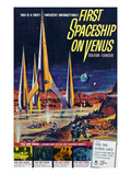 First Spaceship On Venus, 1962 Prints
