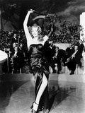 Gilda, Rita Hayworth, 1946, Performing Kunstdruck