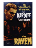 The Raven, Boris Karloff, Bela Lugosi, 1935 Photo