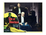 Son of Dracula, Lon Chaney, Jr., Samuel S. Hinds, (Inset: Louise Allbritton), 1943 Photo
