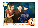 The Devil Doll, Grace Ford, Henry B. Walthall, Lionel Barrymore, 1936 Affiches