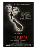 The Omen, From Left, Gregory Peck, Lee Remick, 1976 Poster