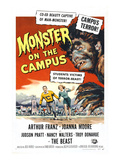 Monster On the Campus, Arthur Franz (Top), 1958 Plakat
