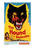 Hound of the Baskervilles, Hammer Productions, 1959 Posters