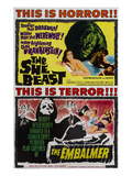 She-Beast, On A Double Bill With 'The Embalmer', 1966 Prints