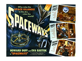 Spaceways, Howard Duff, Eva Bartok, 1953 Prints