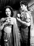 Samson and Delilah, Hedy Lamarr, Victor Mature, 1949 Photo