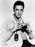 Live a Little, Love a Little, Elvis Presley Poses with His Leica Camera, 1968 Posters