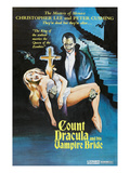 The Satanic Rites of Dracula, (AKA Count Dracula And His Vampire Bride), 1973 Posters