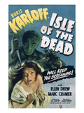 Isle of the Dead, Boris Karloff, Ellen Drew, 1945 Photo