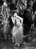 Hula, Clara Bow, 1927 Photo