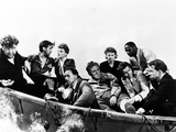 Lifeboat, Walter Slezak, John Hodiak, Tallulah Bankhead, Henry Hull, William Bendix, et al, 1944 Photo