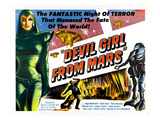 Devil Girl From Mars, Left: Patricia Laffan, 1955 Photo