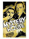 Mystery House, From Left: Ann Sheridan, Dick Purcell, 1938 Prints