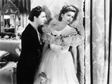 Rebecca, Judith Anderson, Joan Fontaine, 1940 Photo
