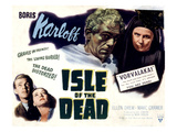 Isle of the Dead, Boris Karloff, Marc Cramer, Ellen Drew, Katherine Emery, 1945 Photo