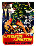 Revenge of the Creature, (AKA La Revanche Du Monstre), 1955 Posters