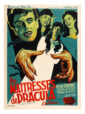 The Brides of Dracula (AKA Les Maitresses De Dracula), 1960 Pôsters