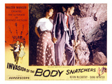 Invasion of the Body Snatchers, Dana Wynter, Kevin McCarthy, 1956 Posters