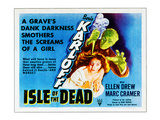 Isle of the Dead, From Top: Boris Karloff, Ellen Drew, 1945 Photo