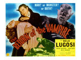 The Return of the Vampire, Nina Foch, Bela Lugosi, Matt Willis, 1944 Photo