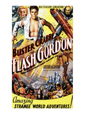 Flash Gordon, Jean Rogers, Larry 'Buster' Crabbe, Charles Middleton, 1936 Prints